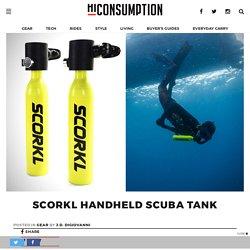 SCORKL Handheld Scuba Tank