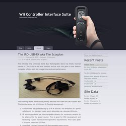The IRO-USB-R4 aka The Scorpion « Wii Controller Interface Suite