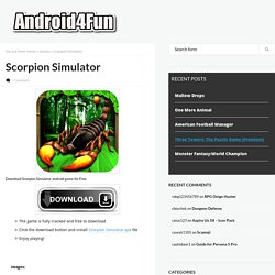 Scorpion Simulator Android APK Free Download - Android4Fun