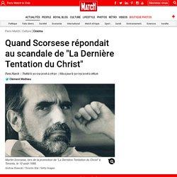 """Quand Scorsese répondait au scandale de """"La Dernière Tentation du Christ"""""""