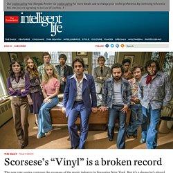 "Scorsese's ""Vinyl"" is a broken record"
