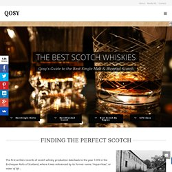 Best Scotch Whisky - Top 10 Single Malt & Blended Whiskies