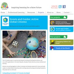 Scouts and Guides - active global citizens