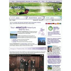 Angus Scotland's Birthplace official site; living, working and visiting