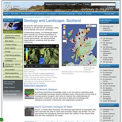 UK geology: Scotland British Geological Survey (BGS)