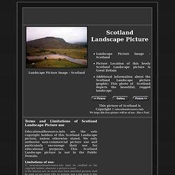 Free Scotland Landscape Picture
