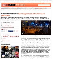Scotland-Yard-Bericht: Mark Dugganhat nicht auf Polizisten geschossen - SPIEGEL ONLINE - Nachrichten - Panorama