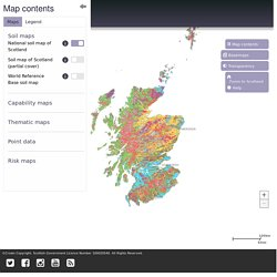 Scotland's Soils - soil maps