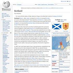 Scotland - Wikipedia