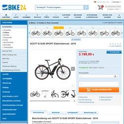 SCOTT E-SUB SPORT Elektrofahrrad - 2016 - Bike24
