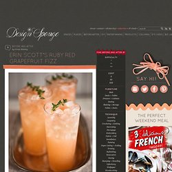 Erin Scott's Ruby Red Grapefruit Fizz