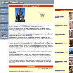 Scott Monument on AboutBritain.com