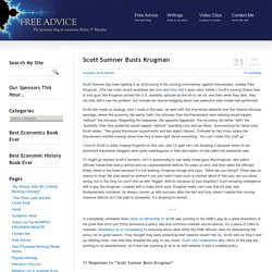 Scott Sumner Busts Krugman