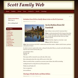 Scott Family Web Page