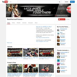 ScottHermanFitness's Channel‬‏
