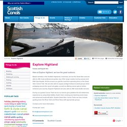 Scottish Canals: Activities, things to do on and around Scotland's Canals