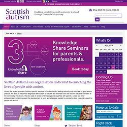 Scottish Autism - Home
