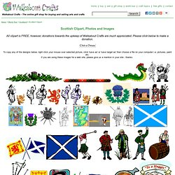 Scottish clipart, clip art image from Scotland, free images