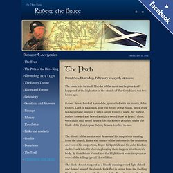 Robert The Bruce - The Hero Scottish King - The Bruce Trust - Robert the Bruce Commemoration website