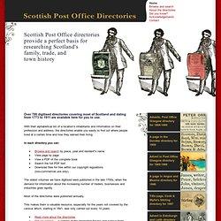 Scottish Post Office directories