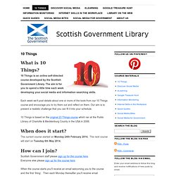 Scottish Government Library