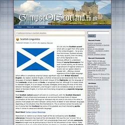 Scottish Linguistics