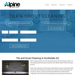 Scottsdale Tile Cleaning