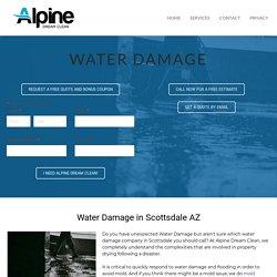 Scottsdale Water Damage Remediation