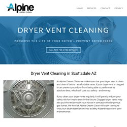 Scottsdale Dryer Vent Cleaning