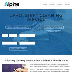 Scottsdale AZ Upholstery Cleaning