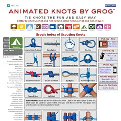 How to Tie Scouting Knots
