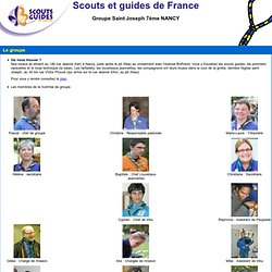 Scouts et Guides de France à Nancy