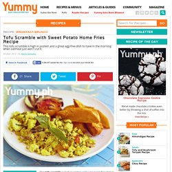 Tofu Scramble With Sweet Potato Home Fries Recipe