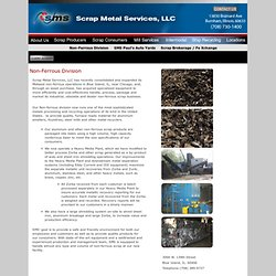 Scrap Metal Services, LLC : Scrap Buyers