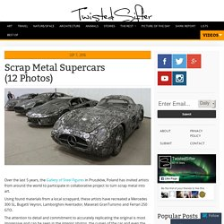 Scrap Metal Supercars (12 Photos)