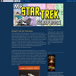 Starlog #1 Color Star Trek Section
