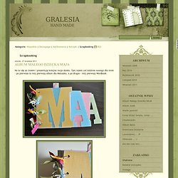 Scrapbooking - GRALESIA