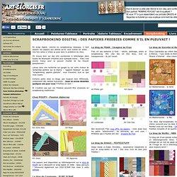 Scrapbooking digital : des papiers freebies en téléchargement gratuit