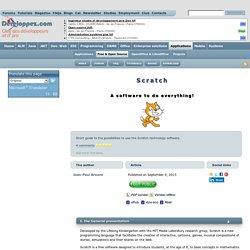 Scratch, un logiciel à tout faire