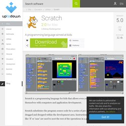 Scratch 2.0 for Mac - Download