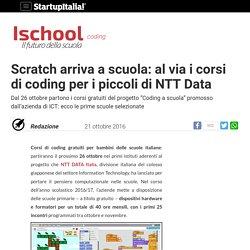 Scratch arriva a scuola: al via i corsi di coding per i piccoli di NTT Data