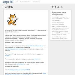 Scratch – Autoformations du RÉCIT MST