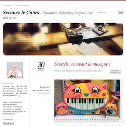 Scratch : en avant la musique !