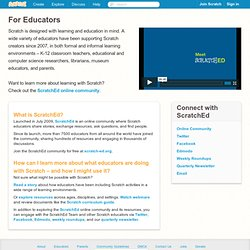 Scratch - For Educators