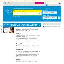 Scratch Attaque : Hackathon à Roubaix pour les enfants - Médiathèque de Roubaix