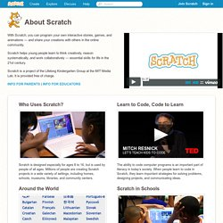 Aiuto di Scratch - About Scratch