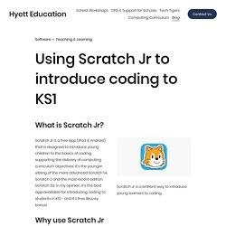 Using Scratch Jr to introduce coding to KS1? — Hyett Education