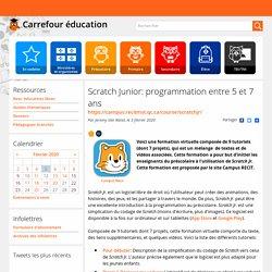 Scratch Junior: programmation entre 5 et 7 ans