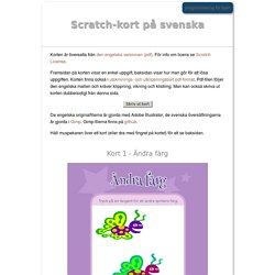 Scratch-kort på svenska