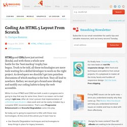 Coding A HTML 5 Layout From Scratch